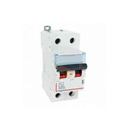 Автоматический выключатель Legrand DX3-E 6000 6кА тип C 2П 407278 автоматический выключатель legrand dx3 e 6000 6ка тип c 3п 40а 407295