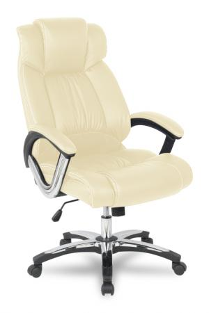 Кресло руководителя College H-8766L-1 экокожа бежевый