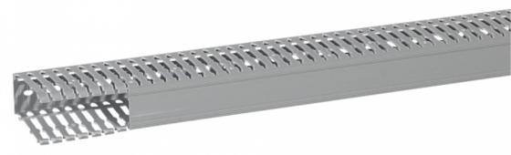 Короб Legrand Transcab перфорированный 25х25мм серый 636100
