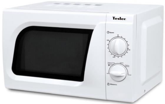 Микроволновая печь TESLER MM-1713 700 Вт белый свч tesler mm 1711 700 вт белый