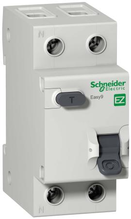 Выключатель дифференциального тока Schneider Electric EASY 9 1П+Н 25А 30мА C AC EZ9D34625 цена