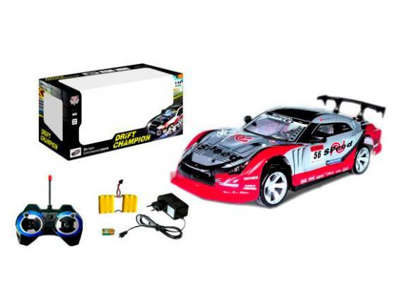 Машинка на радиоуправлении Shantou Gepai drift champion ассортимент от 3 лет пластик 333-P015 машинка на радиоуправлении shantou gepai drift car ассортимент от 3 лет пластик 1 20 4 канала 2 вида 8010 1 8010 2