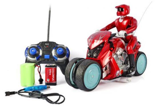 Мотоцикл на радиоуправлении Shantou Gepai Мотоцикл цвет в ассортименте от 3 лет пластик машинка на радиоуправлении shantou gepai zyb b2738 6 цвет в ассортименте от 3 лет пластик металл