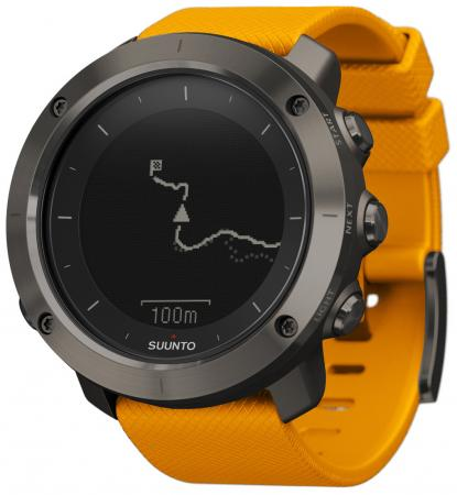 Смарт-часы Suunto Traverse оранжевый SS021844000 умные часы suunto traverse white