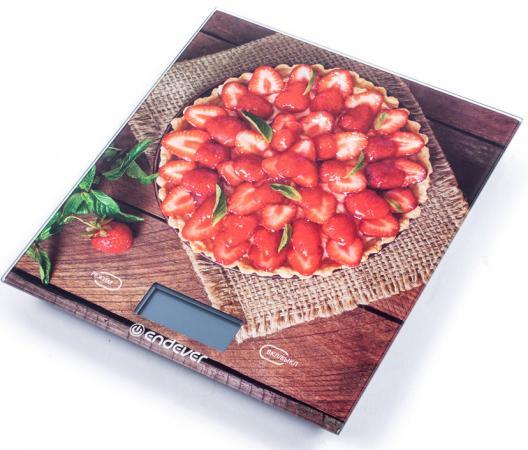 Весы кухонные ENDEVER KS-522 разноцветный цена и фото