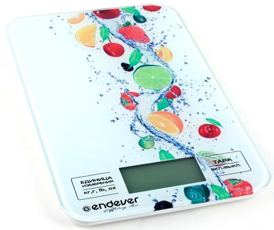 Весы кухонные ENDEVER Skyline 521-KS рисунок цена и фото