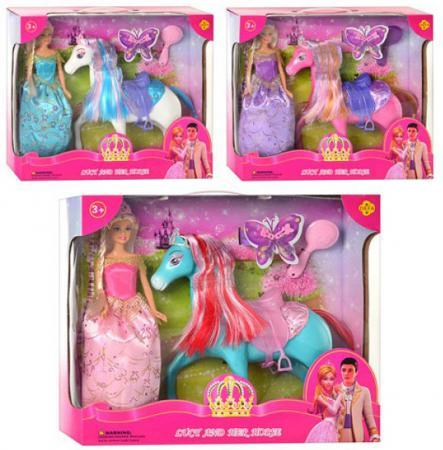 Кукла Defa Lucy в наборе с лошадью и аксесс., в ассорт., кор. 8209 кукла defa lucy с акс в ассорт