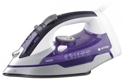 Утюг Vitek 1257(VT) 2400Вт фиолетовый недорого