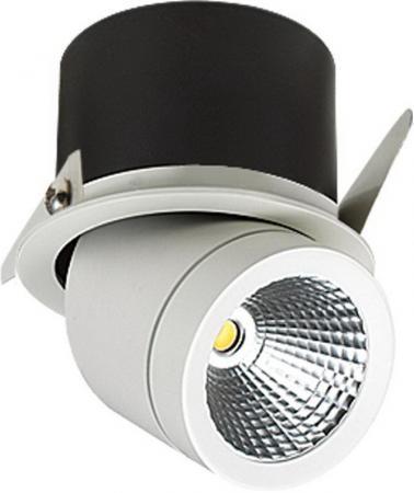 Встраиваемый светодиодный светильник Lucia Tucci Pipe 424.1-12W-WT встраиваемый светодиодный светильник lucia tucci solo 132 1 12w wt