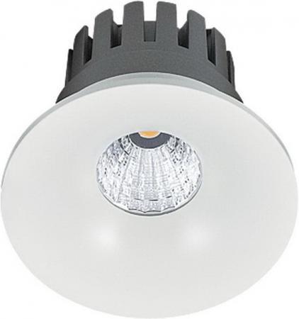 Встраиваемый светодиодный светильник Lucia Tucci Solo 132.1-12W-WT встраиваемый светодиодный светильник lucia tucci solo 132 1 12w wt