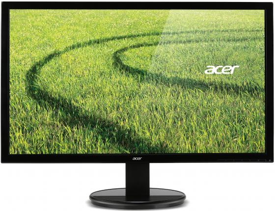 Монитор 24 Acer K242HLBID черный TN 1920x1080 250 cd/m^2 5 ms DVI HDMI VGA UM.FX3EE.003 монитор 21 5 hp vh22 черный tn 1920x1080 250 cd m^2 5 ms dvi vga displayport x0n05aa
