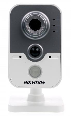 Камера IP Hikvision CUBE CMOS 1/2.8 2688 x 1520 H.264 MJPEG RJ-45 LAN PoE белый серый DS-2CD2442FWD-IW free shipping ds 2cd2442fwd iw english version 4mp ir cube network cctv security camera mini wifi ip camera poe 10m ir