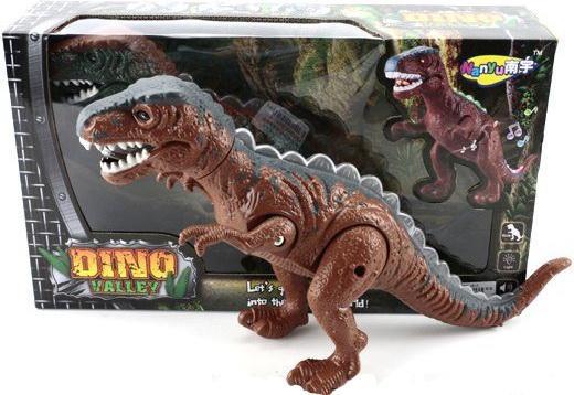 Интерактивная игрушка Shantou Gepai Динозавр эл. 632072 от 3 лет коричневый NY007-A игрушка shantou gepai домик 632804