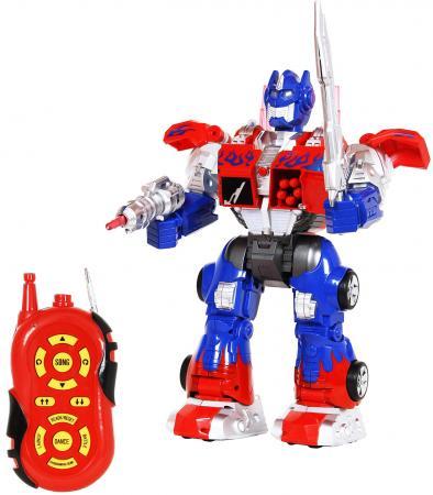 Боевой робот Shantou Gepai 633126 36 см на радиоуправлении со звуком светящийся двигающийся танцующий боевой робот shantou gepai 37 см на радиоуправлении со звуком светящийся двигающийся танцующий