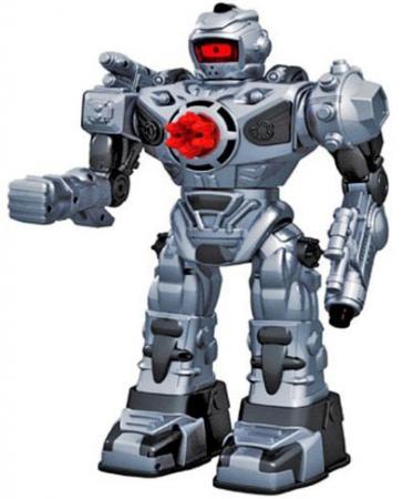 Боевой робот Shantou Gepai 37 см на радиоуправлении со звуком светящийся двигающийся танцующий TT711B робот трансформер shantou gepai tyrant wasp 45 см на радиоуправлении со звуком светящийся танцующий 6021