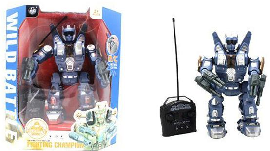Боевой робот Shantou Gepai Wild Battle на радиоуправлении танцующий двигающийся 2028-1+B боевой робот shantou gepai воин галактики 30 см двигающийся со звуком светящийся 6007