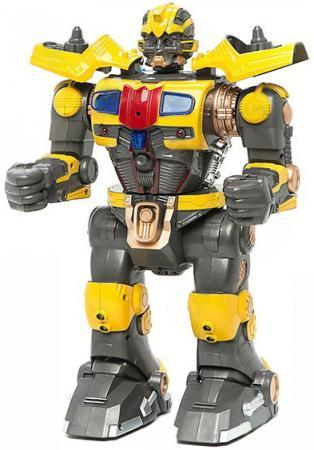 Интеллектуальный робот Shantou Gepai Армагеддон 33 см со звуком светящийся на радиоуправлении двигающийся  9838-3 shantou gepai каталка ходунки бегемотик со светом и звуком shantou gepai