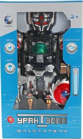 Боевой робот Shantou Gepai Уран 3000 45 см двигающийся со звуком светящийся  200205 shantou gepai каталка ходунки бегемотик со светом и звуком shantou gepai