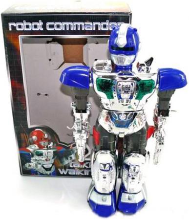 Боевой робот Shantou Gepai Robot Commander 38 см двигающийся со звуком светящийся JL-728D боевой робот shantou gepai robot commander 38 см двигающийся со звуком светящийся jl 728d