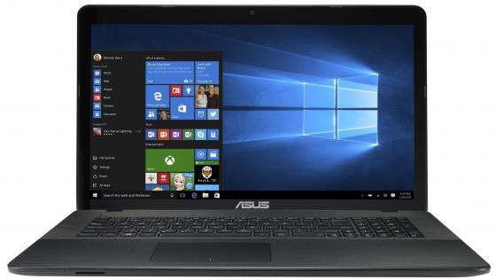 Ноутбук ASUS X751SA-TY165T 17.3 1600x900 Intel Pentium-N3710 500Gb 4Gb Intel HD Graphics 405 черный Windows 10 90NB07M1-M03120 ноутбук asus x751sj ty017t pentium n3700 1 6ghz 17 3 4gb 500gb dvdrw gt920m 1gb w10 black 90nb07s1 m00860