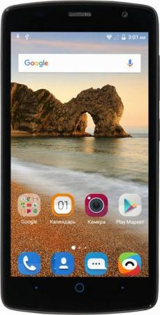 Смартфон ZTE Blade L5 Plus черный 5 8 Гб Wi-Fi GPS 3G смартфон zte blade a530 серый 5 45 16 гб lte wi fi gps 3g blade a530 gr