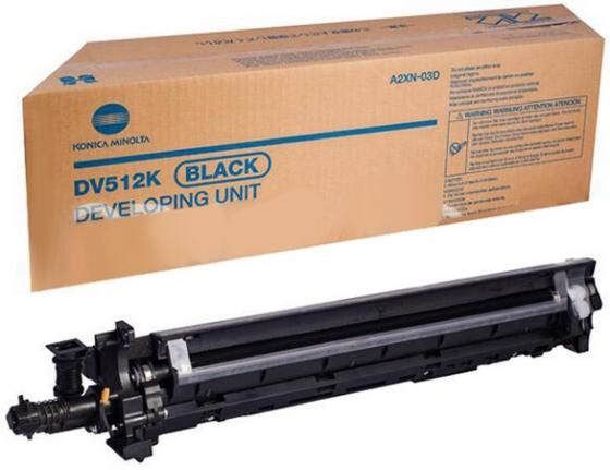 Девелопер Konica Minolta DV-512K для Bizhub C224/284/364/454/554 черный refill laser copier color toner powder for konica minolta bizhub c224 c284 c364 c554 c654 c754 c 224 284 364 554 654 754 printer