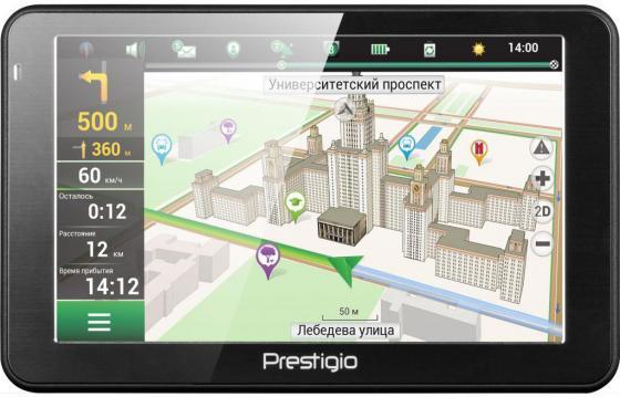 Навигатор Prestigio GeoVision 5066 Навител 5 800х480 4GB 128MB черный