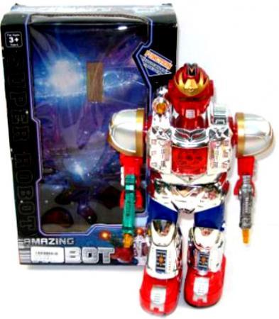 Боевой робот Shantou Gepai Властители - Уран 29 см двигающийся со звуком светящийся 921 боевой робот shantou gepai 633126 36 см на радиоуправлении со звуком светящийся двигающийся танцующий