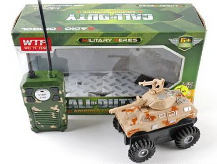 Танк на радиоуправлении Shantou Gepai Call of Duty 632886 коричневый от 6 лет пластик 917-A 20916 call of duty black ops