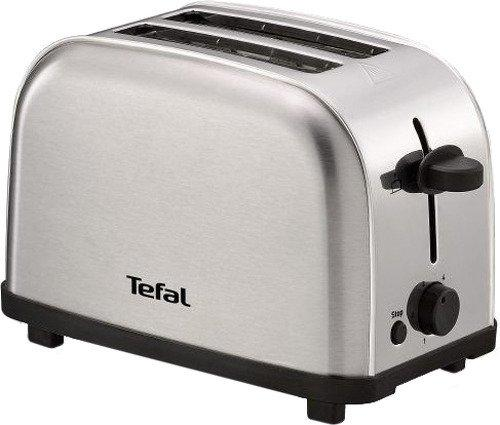 Тостер Tefal TT330D30 серебристый 8000035883 тостер tefal tt 3571 express