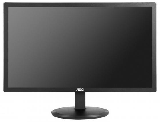 Монитор 22 AOC E2280SWN(/01) черный TN 1920x1080 200 cd/m^2 5 ms VGA монитор aoc 21 5 e2270swdn 01 e2270swdn 01