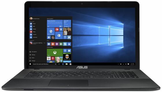 Ноутбук ASUS X751SV-TY008T 17.3 1600x900 Intel Pentium-N3710 500Gb 4Gb nVidia GeForce GT 920M 1024 Мб черный Windows 10 90NB0BR1-M00140 ноутбук asus x751sj ty017t pentium n3700 1 6ghz 17 3 4gb 500gb dvdrw gt920m 1gb w10 black 90nb07s1 m00860