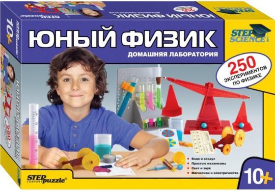 Игровой набор Step Puzzle Домашняя лаборатория - Юный физик 76093 step puzzle степ пазл домашняя лаборатория юный биолог растения 76048