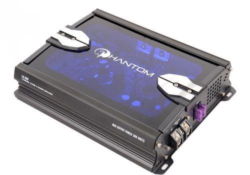 Усилитель звука Phantom LX 1.600 1-канальный усилитель автомобильный phantom lx 4 120