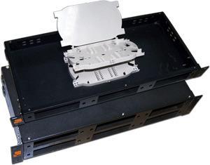Полка оптическая наборная Lanmaster LAN-FOBM-RM-3P 19 стационарная 1U
