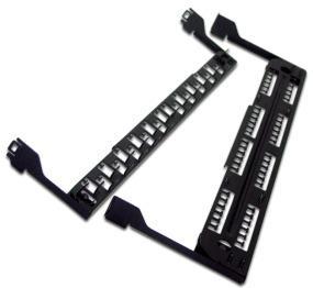 лучшая цена Поддерживающая скоба Lanmaster LAN-PPL24-CMB для LAN-PPL24Uхх металл