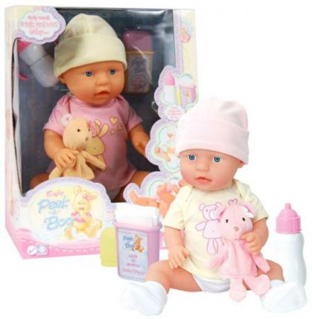 Кукла-младенец Shantou Gepai 09806 46 см пьющая писающая в ассортименте