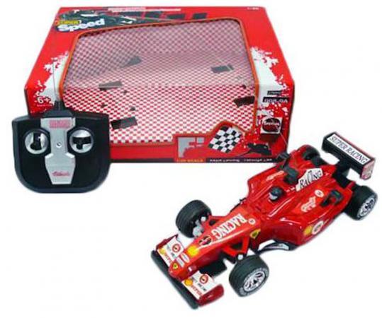 Машинка на радиоуправлении Shantou Gepai Super Racing - Гоночный болид красный от 6 лет пластик 1:20, 4 канала 998-9A машинка на радиоуправлении shantou gepai от 6 лет ассортимент пластик 1 16 4 канала 635367