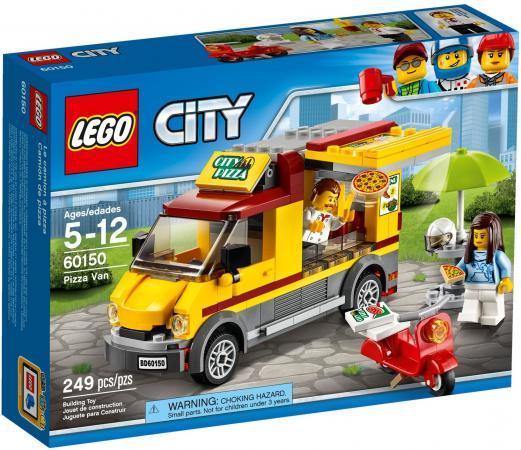 Конструктор LEGO City: Фургон-пиццерия 249 элементов 60150