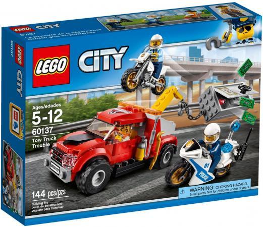Конструктор LEGO City: Побег на буксировщике 144 элемента 60137