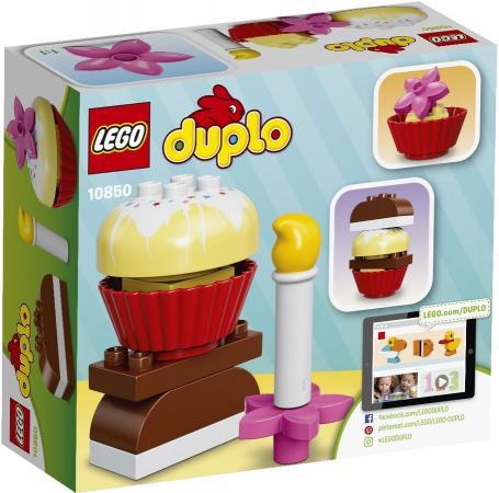 Конструктор LEGO Duplo - Мои первые пирожные 8 элементов 10850 lego lego конструктор duplo ветеринарная клиника доктора плюшевой