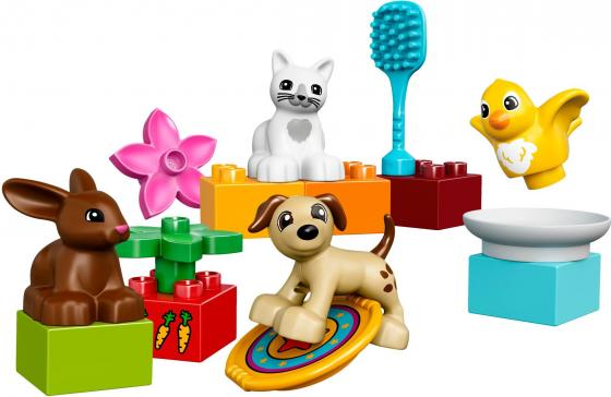 Конструктор LEGO Домашние животные 15 элементов 10838 конструкторы clever мой маленький конструктор тетрадь домашние животные