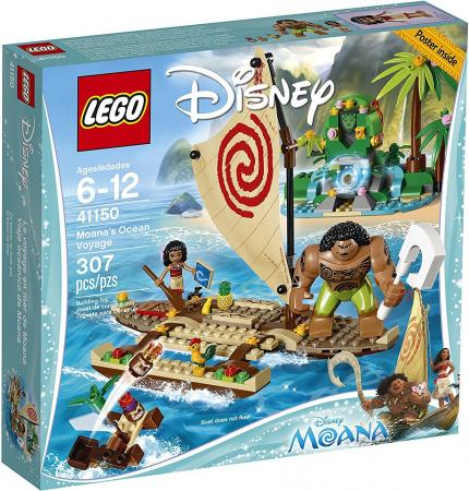 Конструктор LEGO Disney Princesses Путешествие Моаны через океан 307 элементов 41150 lego disney princess 41150 лего принцессы путешествие моаны через океан