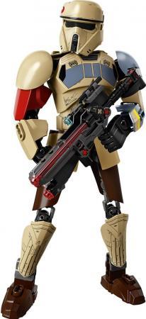 Конструктор Lego Штурмовик со Скарифа 89 элементов 75523 lego star wars 75523 лего звездные войны штурмовик со скарифа