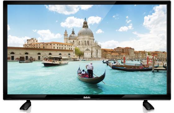 "Телевизор LED 24"" BBK 24LEM-1028/T2C черный 1366x768 50 Гц HDMI USB VGA"