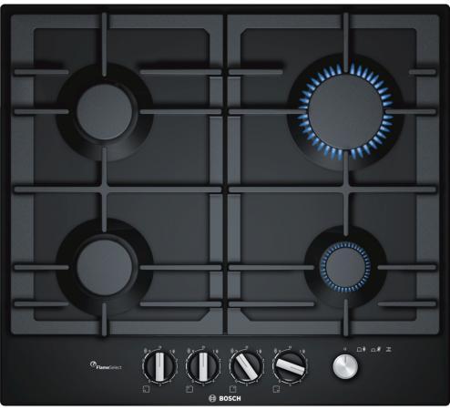цены Варочная панель газовая Bosch PCP6A6M90 черный