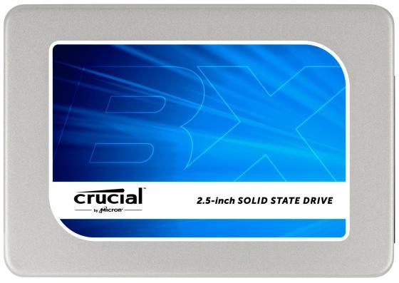 Твердотельный накопитель SSD 2.5 512GB Crucial BX200 Read 540Mb/s Write 490Mb/s SATAIII MTFDDAK512TBN-1AR1ZABYY
