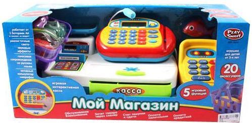 Игровой набор Shantou Gepai Мой магазин Касса 20 предметов 94411 игровой набор shantou gepai касса с продуктами yh818 2 12 предметов