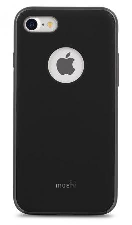 все цены на  Чехол Moshi iGlaze для iPhone 7 Plus матовый черный  онлайн