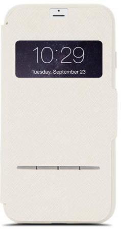 Чехол Moshi SenseCover 99MO072104 для iPhone 7 Plus бежевый цена